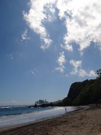 Hamoa Beach: вид вправо