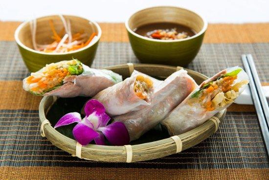 Hanoi sepcial Fresh Spring rolls