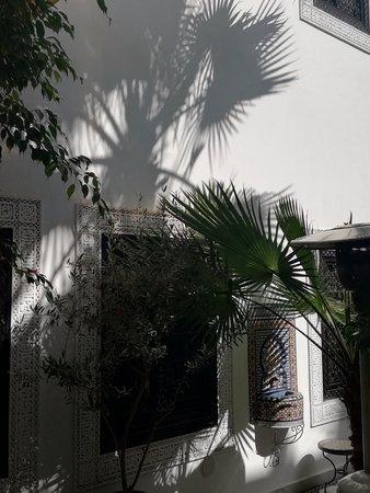 Le Riad Monceau: Innenhof