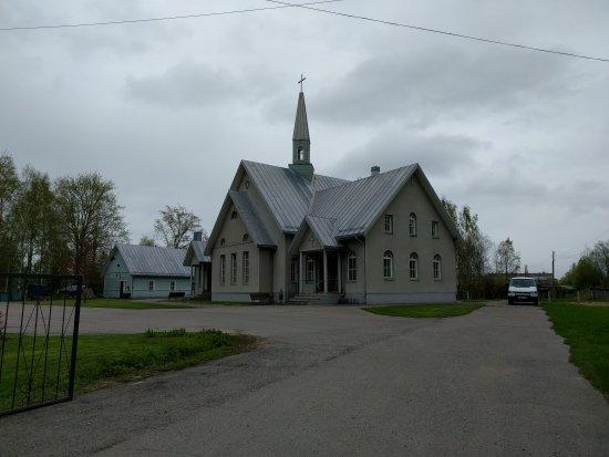 Olonets, Rusia: Лютеранская церковь Святого Креста