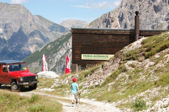 Gschnitz, Austria: T-Hütte, Prangers sind supernette Leute!