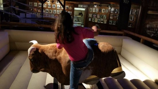 The Grizzly Rose: Getting on the bull is not the toughest part.