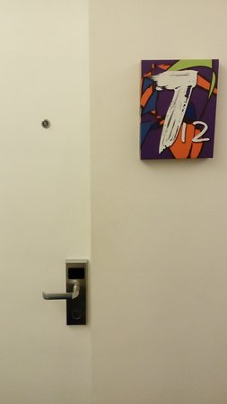 The Picasso Boutique Serviced Residences: Room entrance