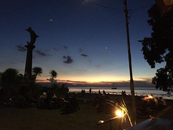 Banjar, Indonesien: Sonnenuntergang