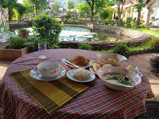‪‪Pakse‬, لاوس: Cooking Class at Xuanmai Garden Resort‬