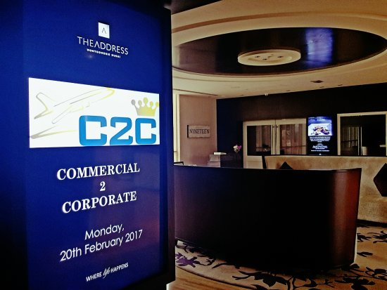 Address Montgomerie: Great place for a conference or training event