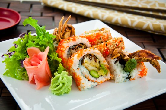 Sushi Fang: Spider roll