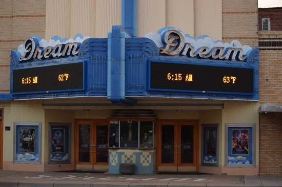 Russell, KS: The Dream Theater is a beautiful building and a great place to visit!