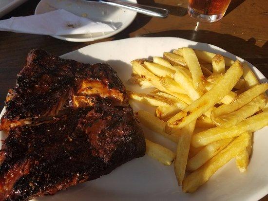 Johnson City, TN: Pork Ribs & Fries