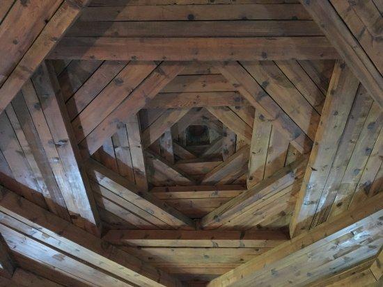 Ceiling architecture - Hacı Bektaş Veli Müzesi, Nevşehir ...