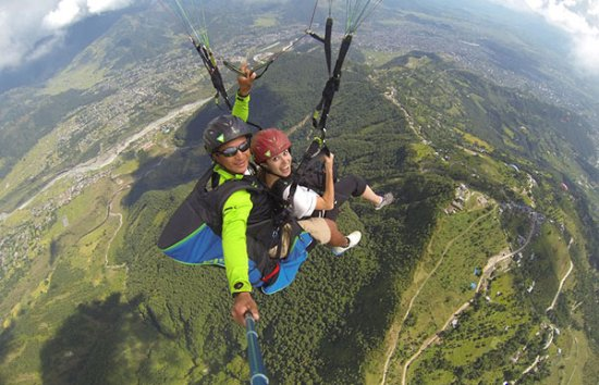 Green Wall Paragliding