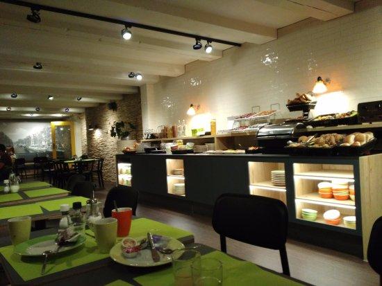 Nova Hotel Amsterdam: Breakfast area