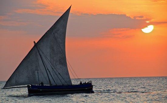 Sunset in Stone Town Zanzibar ...