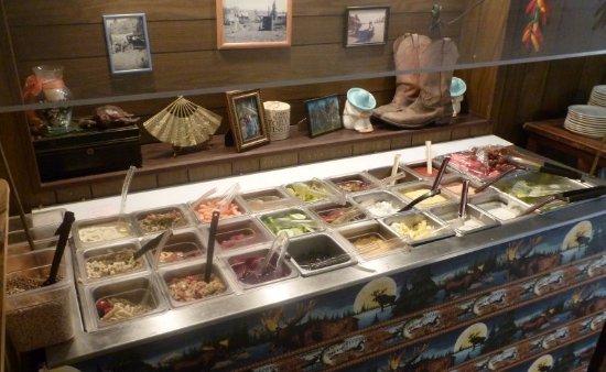 Cheney, WA: Salad Bar...