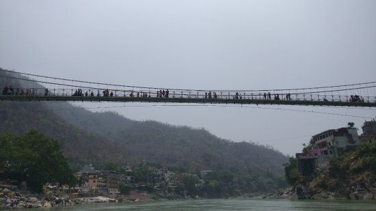 Rishikesh River Rafting: laxman jhula