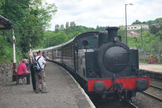 Peak Rail: Arriving at Matlock Station
