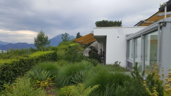Meggen, Szwajcaria: Apartment Terrace