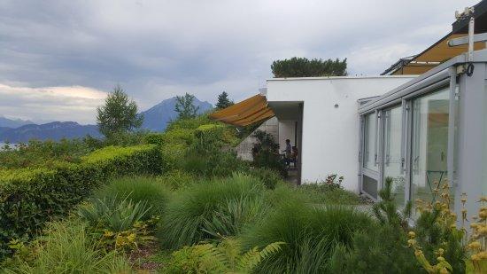 Meggen, Swiss: Apartment Terrace