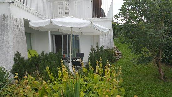 Meggen, Szwajcaria: Southroom terrance