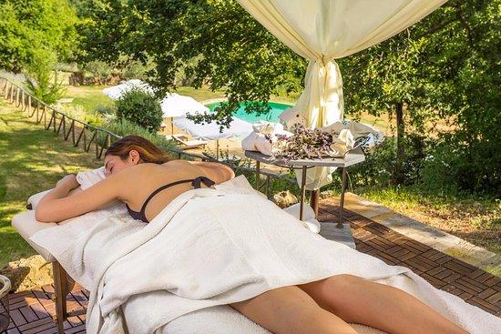 Ciciano, Italia: Patio relax