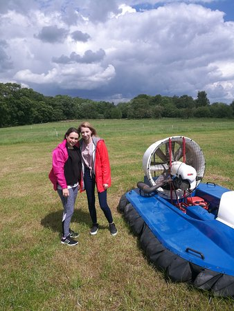 Auchinleck, UK: Great day on the segways and hovercraft