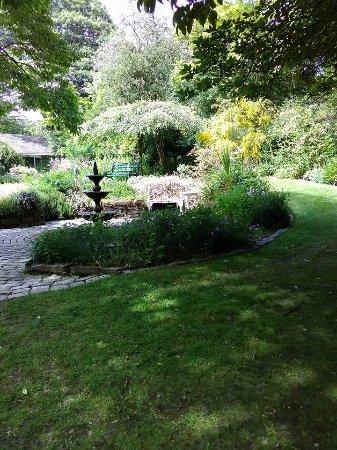 St Austell, UK: garden