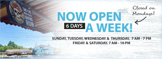 Chickasaw, AL: Open 6 days a week