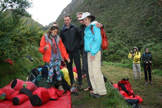 Llama Path: First campsite