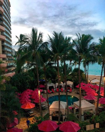 The Royal Hawaiian, a Luxury Collection Resort: View from 3rd floor of the tower.