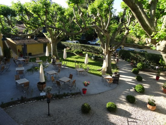 Sablet, Frankrijk: Belle terrasse