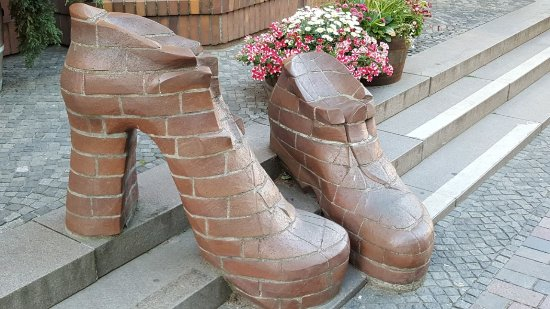 "Skulptur ""Schuhe"""