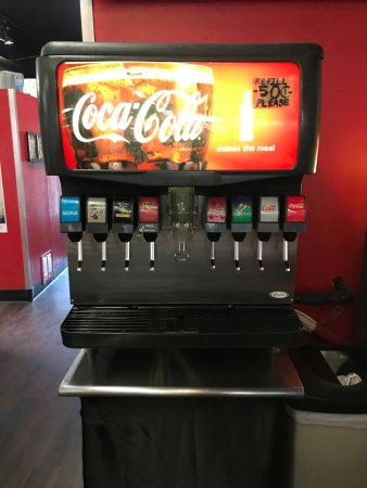 Downtown House of Pizza : Soda Fountain at DHOP