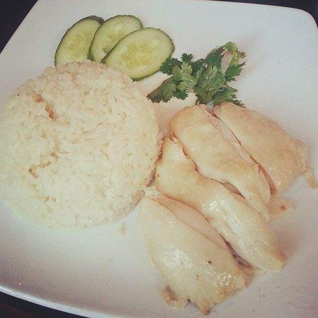 Sedap: chicken rice