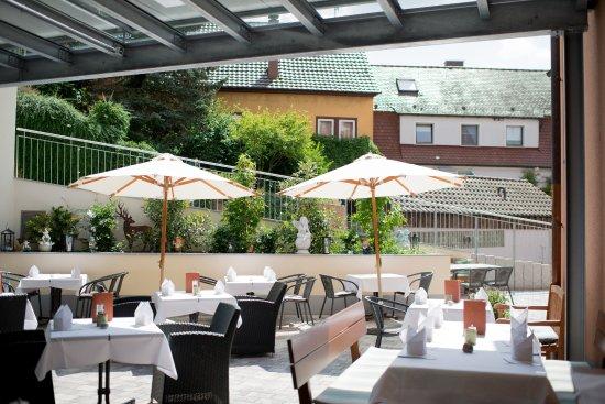 Bitzfeld, Allemagne : Terrasse