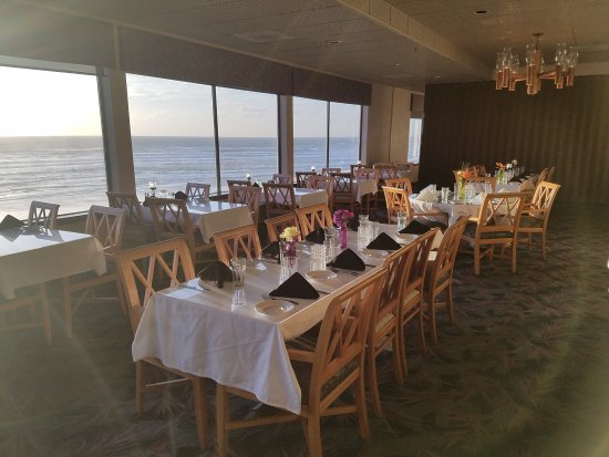 Shilo Restaurant: Beautiful sunsets and ocean view