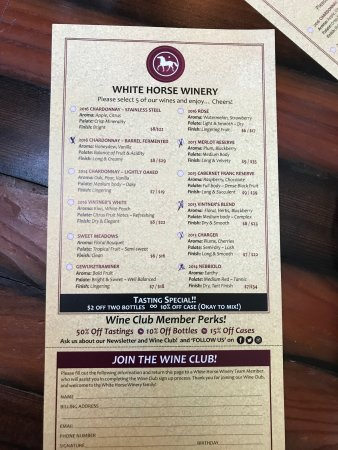 Hammonton, NJ: White Horse Winery