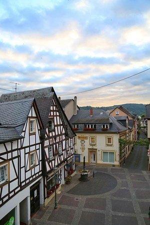 Hotel Hunsrücker Hof: Вид из окна