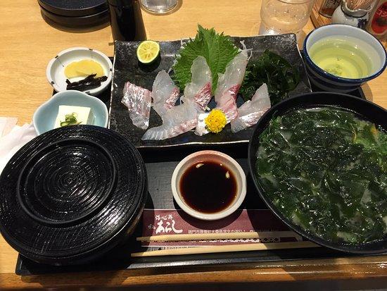 High quality sashimi.