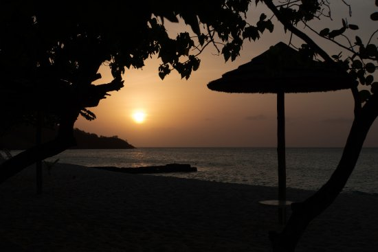 Spice Island Beach Resort: Sunset on Grand Anse Beach
