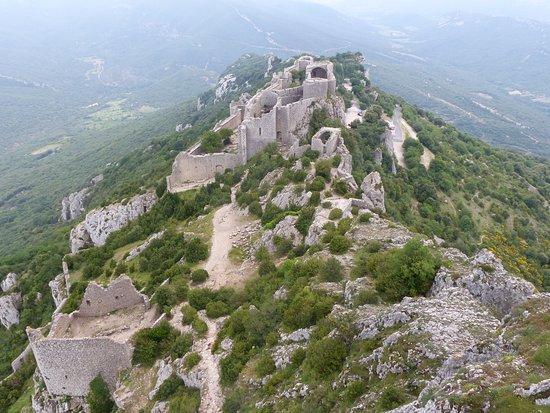 Château de Peyrepertuse : VUE