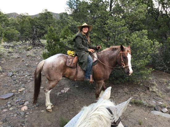 Taos County, NM: Trail guide and horsewoman extrraordinaire, Melissa