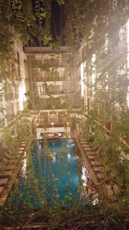 The Magani Hotel and Spa: Nigh time at the Magani