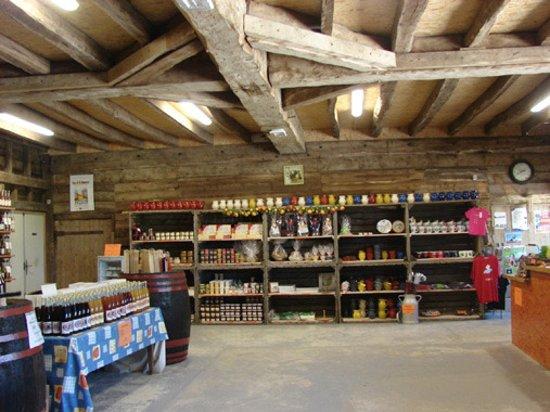Bretteville-du-Grand-Caux, Francja: La boutique et ses produits de Normandie