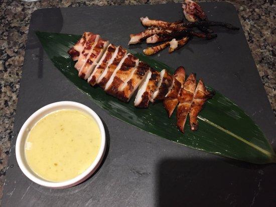 Umi Japanese Restaurant: Swimmingly Fresh Succulent Squid