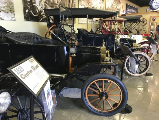 Model T Ford Museum: Great variety of vehicles to see up close.