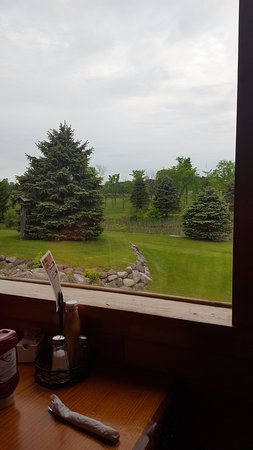 Somerset, WI: View from our booth
