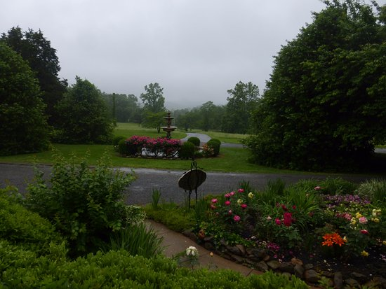 Nellysford, VA: Looking out from the inn
