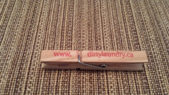 Summerland, Canada: This is one of their souvenirs. Clothes pin.