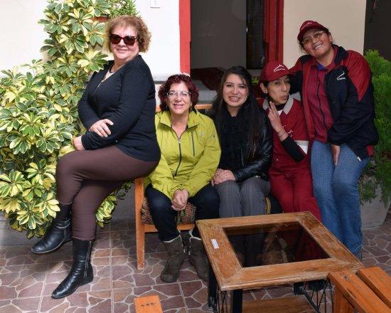 Con Las Chicas Lindas Del Hostal Picture Of La Posada Del