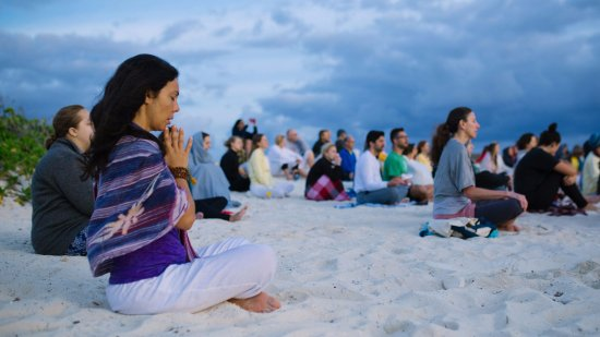 Sivananda Ashram Yoga Retreat: Morning Satsang
